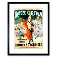 Vintage French Champagne Ad Framed Art Print Picture Mount Photo 9x7 Inch