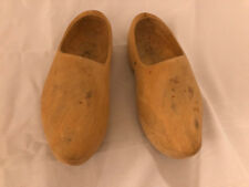 Handmade Life Size Wood Clogs from Amsterdam European Heritage Excellent