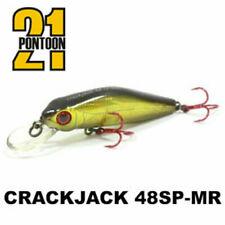 Pontoon21 Crack Jack 48SP-MR 4,8cm 3,4g Fishing Lures (Choice Of Colors)