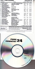 COUNTRY MUSIC VCD VIDEO CD DOLLY PARTON ADAM HARVEY SHANIA TWAIN KEITH URBAN