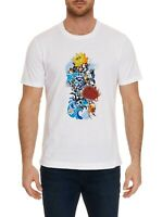 ROBERT GRAHAM MEN'S STOP BEING KOI S/S GRAPHIC PRINT TSHIRT CLASSIC FIT $98 NWT