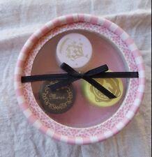 Vintage Paris Inspired Wooden Stamp Set 'Sweets'  - BRAND NEW