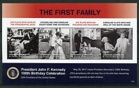 Grenadines Grenada 2017 MNH JFK John F Kennedy 100th Birthday 4v M/S II Stamps