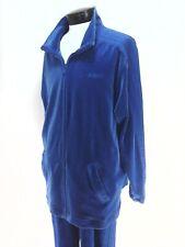 ADIDAS Track Suit Blue Velour Retro 2004 Jacket Pants 353007 Mens L RARE