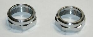 Delta OEM Bath Faucet 2 Handle Replacement Bonnet Nuts Pair Chrome RP6060 2 pc