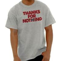 Thanks For Nothing Clinton President Election Short Sleeve T-Shirt Tees Tshirts