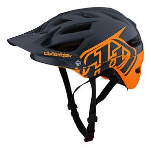Troy Lee Designs A1 Classic MTB / Bicycle Helmet w/MIPS - Tangelo / Marine