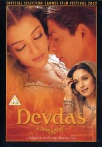 Devdas Hindi DVD English Subs (2 Disc Set) - New - Free Tracked Postage