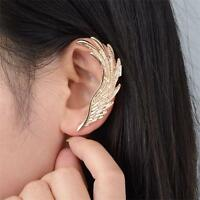 1PC Antique Gold Wing Gothic Punk Rock Style Ear Cuff Wrap Clip Earring New Hot