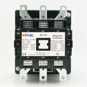 EH110-30-22 Contactor 120V Replace directly for ABB EH Contactor EH110 3p 75hp