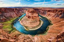 Horseshoe Bend Fototapete Grand Canyon Colorado River Page Arizona XXL Poster