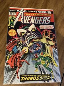 Avengers #125 VF/NM Thanos