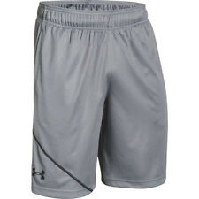 "Under Armour 1257647 Men's Steel UA Quarter 10"" Inseam Shorts - Size Medium"