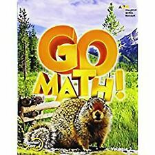 Go Math!: Student Edition Volume 2 Grade 4 2015, HOUGHTON MIFFLIN HARCOURT, Good