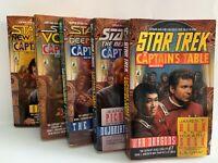 "STAR TREK ""The Captains Table"" Book Series 1-5"