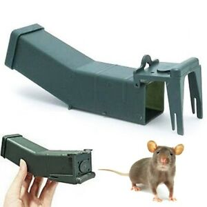 2x HUMANE MOUSE TRAPS No Kill Catch & Release Home Garden Pest Rodent Control