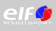 ELF Sticker Renault Sport Clio Megane 225 Turbo F1 182 172 Cup Decal 400mm Large