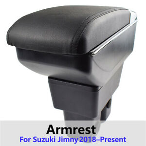 Armrest Dual Center Sliding Container For Suzuki Jimny 2020 Cup Holder Box