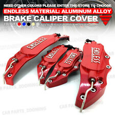 Aluminum alloy 4pcs Red 3D ENDLESS Style Universal Brake Caliper Cover L+S WL03