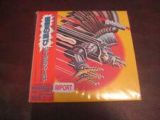 JUDAS PRIEST SCREAMING VENGEANCE JAPAN REPLICA LIMITED EDITION 2006 RARE OBI CD