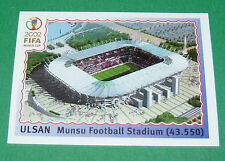 N°14 ULSAN STADE WORLD CUP PANINI FOOTBALL JAPAN KOREA 2002 COUPE MONDE FIFA