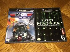 Enter the Matrix & Top Gun Combat Zones Nintendo GameCube Wii