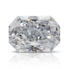 0.04 Carat Fancy Light Blue Diamond GIA Certified Natural Color Radiant