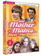 AND MOTHER MAKES THREE 3 & FIVE 5 the complete series box set. New sealed DVD.