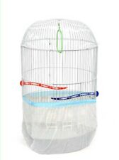 20 Pcs Seed Catcher Cylinder Bird Cage Pocket Style Guard Tulle Wholesale