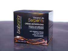 Babaria Snake Venom / ANTI WRINKLE FACE CREAM - 50 ml