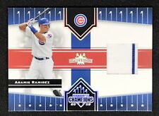 2005 Donruss Champions Impressions Aramis Ramirez Game Jersey Chicago Cubs