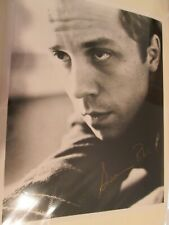 10x8 Signed Photo of Giovanni Ribisi - Friends Frank Jr