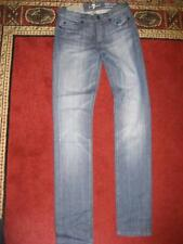 NWT 7 FOR ALL MANKIND High Waisted Roxanne Skinny Jeans....size 24