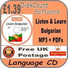 Listen & Learn Bulgarian Language Courses CD  mp3 audio & text