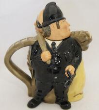 "Royal Doulton Character Teapot ""Policeman and Felon"" D7174. Made In England"