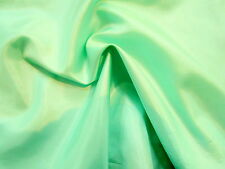 Awesome Light Minty Green Poly-Silk Look or Lining Light-Feather Weight Fabric