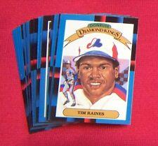 Montreal Expos 1988 Donruss Team Set 24 Cards