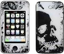 iCandy New Skin for Apple iPhone 3G, 3GS - Grunge Skull