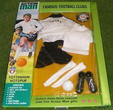 Vintage Action Man 40th Sportsman cardées Club De Football Tottenham Hotspur Spurs
