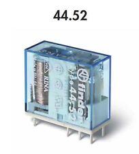 FINDER 40.52.8.012.0000 MINI RELE' 8A - 250V - 12VAC - 2 CONTATTI