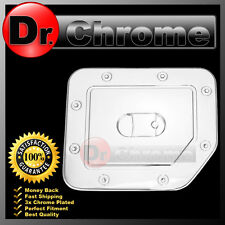 Triple Chrome Plated ABS Gas Tank Fuel Door Cover truck for 04-14 Nissan Titan