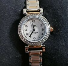 COACH MADISON 14502404 WATCH WITH 24mm SILVER FACE & SILVER & ROSEGOLD BRECLET