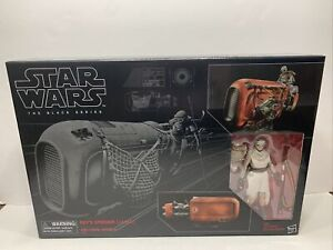 Star Wars The Black Series 6 Inch - Rey's Speeder Jakku 03 Disney Hasbro New NIB