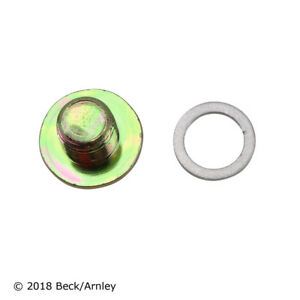 Engine Oil Drain Plug Beck/Arnley 016-0088