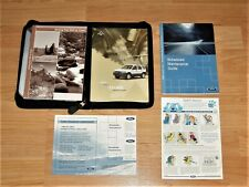 2003 FORD ESCAPE OWNER'S MANUAL SET