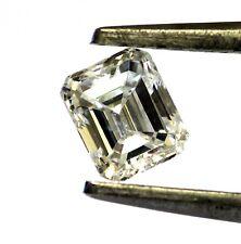 Clarity Enhanced emerald cut loose diamond .60ct SI2 H 4.04x4.97x3.06 mm vintage