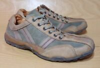 Aldo Mens Tan Leather Sneakers Shoes Size 9 / 42