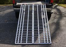 "7' x 40"" Aluminum Folding Ramp USA 740DR- ATV/Snow Blower Ramp VIDEO Demo Inside"