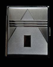 Hansaware Chemnitz King Size Art Deco Cigarette Case Made in Germany 1477/N 140