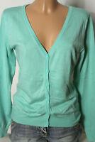 Vero Moda Strickjacke Gr. M mint-grün Damen Strickjacke/Jäckchen